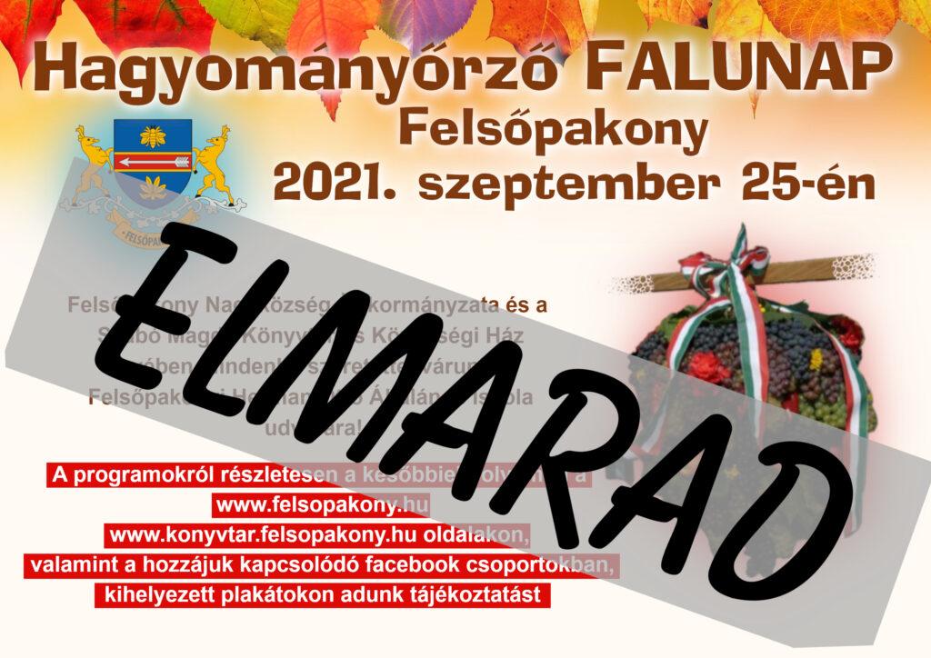 A FALUNAP ELMARAD